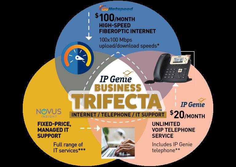 IP Genie Trifecta offer